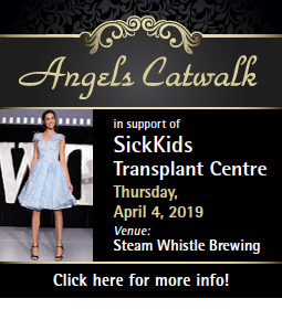 Angels Catwalk in support of SickKids Transplant Centre