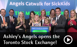 Ashley's Angels opens the TSX